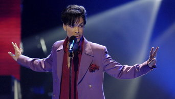 Американский певец Принс