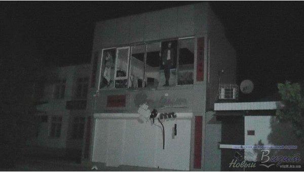 Подрыв магазина под Херсоном