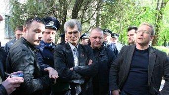 Нападение на Василия Волгу в Запорожье