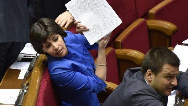Народный депутат Виктория Пташник