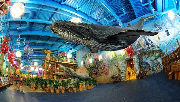 Киевский аквапарк