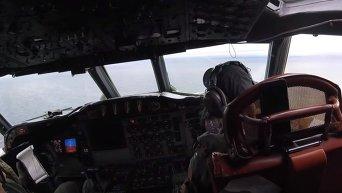 Боевое слаживание ВМС США и ВМС Швеции над водами Балтики. Видео