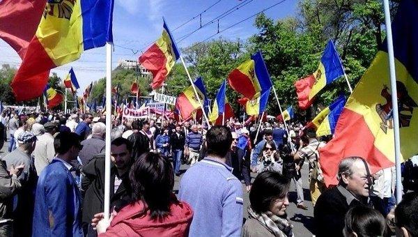 Протесты в Кишиневе