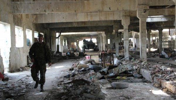 Позиции ВСУ в Опытном под Донецком
