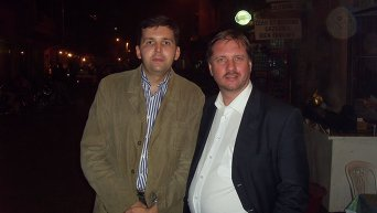 Тарас Чорновил и Андрей Дорошенко. Архивное фото