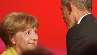 Барак Обама и Ангела Меркель. Архивное фото
