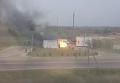 Появилось видео с места взрыва на заправке в Крыму. Видео