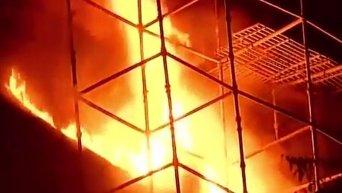 Пожар в здании Федерации торгово-промышленных палат Индии (FICCI) в центре Дели