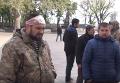 Ночной погром Майдана в Одессе: комментарии очевидцев. Видео