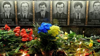 В Славутиче у мемориала Героям Чернобыля прошла панихида по погибшим в результате аварии на ЧАЭС