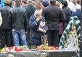 Митинг-реквием у Памятника жертвам Чернобыльской трагедии