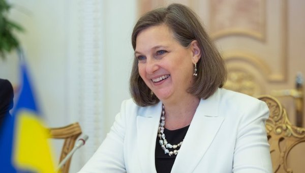 Виктория Нуланд в Киеве