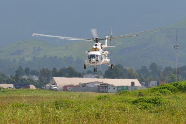 Украинские летчики миссии ООН в ДР Конго