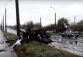 Последствия обстрела КПП Еленовка
