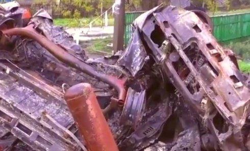 Обстрел КПП в Еленовке