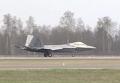 Прибытие истребителей США на авиабазу в Литве. Видео