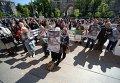 Митинг предпринимателей против запрета на продажу алкоголя и сноса МАФов