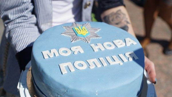 В Кировограде заработала патрульная полиция. Архивное фото