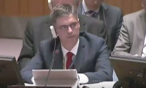 Заседание СБ ООН. Видео