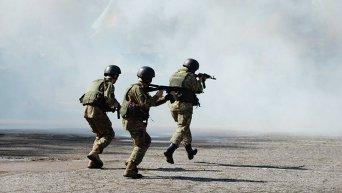 Подготовка силовиков к мероприятиям, направленным на усиление охраны и обороны военных объектов на майские праздники в Одессе