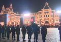 Ночная репетиция парада Победы в Москве. Видео