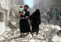 Алеппо под обстрелами РСЗО: паника и жертвы
