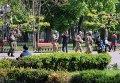 Правопорядок в Одессе охраняют автоматчики и легкая бронетехника