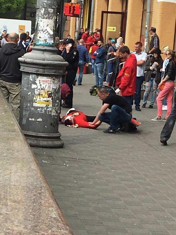 Стрельба на Бессарабской площади в Киеве