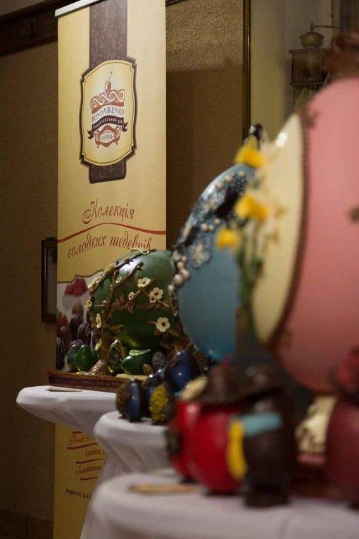 Уникальные шоколадные писанки Мукачево