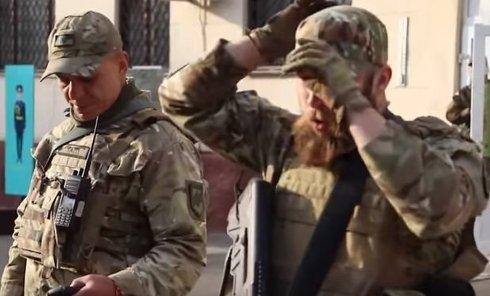 Азов разместил видео о том, как будет демонстрировать свои силы в центре Одессы. Видео