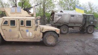 Бойцы АТО поздравили украинцев с Пасхой. Видео