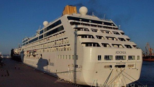 Судно Adonia в порту Одессы. Архивное фото