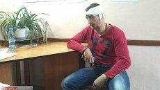 Пострадавжий журналист 7 канала Сергей Бандур