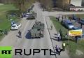 Беспилотник заснял военные учения НАТО в Эстонии вблизи российской границы