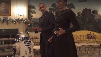 Барак Обама с супругой Мишель