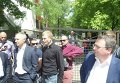 В Днепропетровске облили зеленкой Александра Вилкула и его охрану
