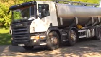 В Черкасской области жители села перекрыли трассу