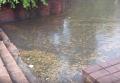 После ливня возле вокзала в Ивано-Франковске появилось озеро. Видео