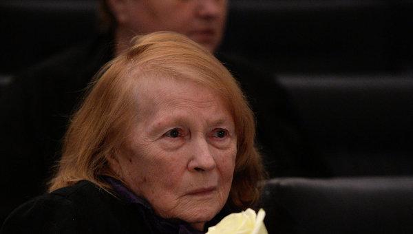 Актриса Людмила Иванова. Архивное