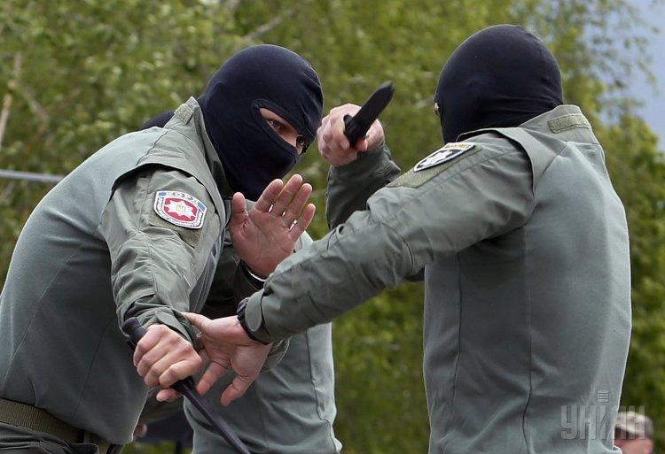 В Харькове ряды полиции пополнили бойцы КОРДа
