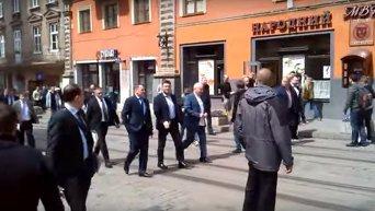 Гройсман прибыл во Львов по случаю 760-летия города