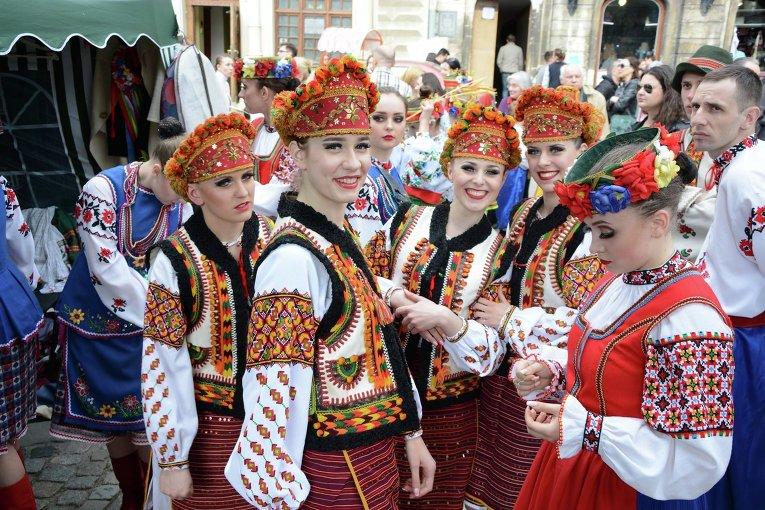 Празднование дня города во Львове