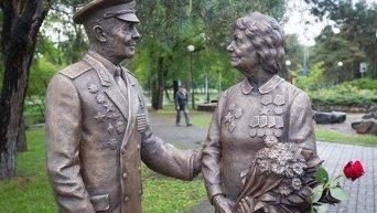 В Киеве появился памятник ветеранам Второй Мировой Войны
