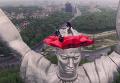 Родина-мать в Киеве в маковом венке: появилось видео