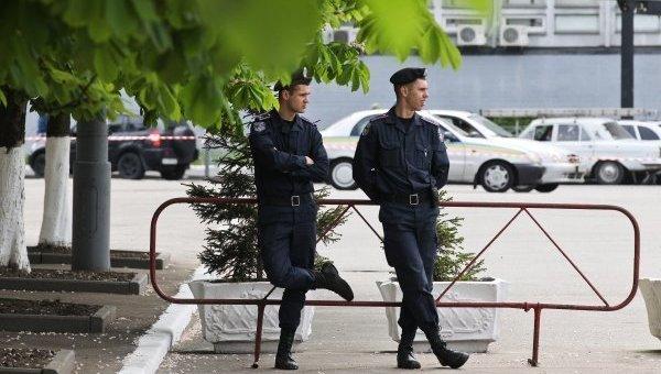 Правоохранители на улицах Киева