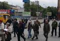 Памятное шествие в центре Днепропетровска. Видео