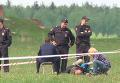 На месте расстрела байкеров в Подмосковье