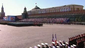 Парад Победы в Москве. Видео