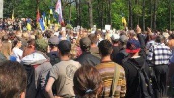 Потасовки в Харькове в День Победы