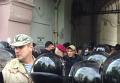 Стычки во Львове возле памятника коммунисту. Видео